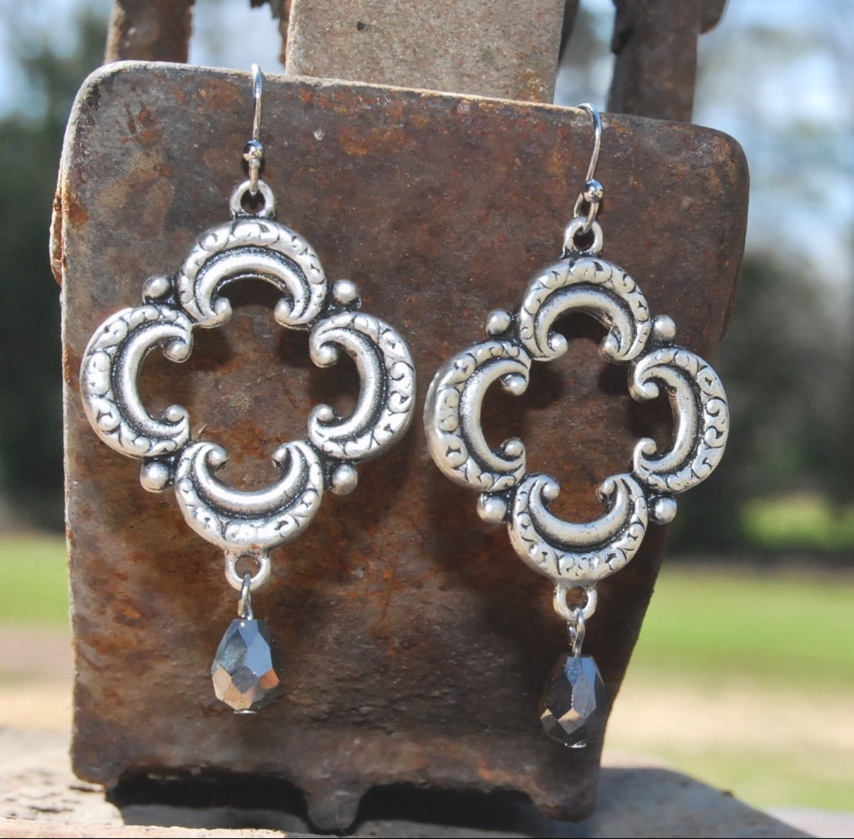 jewellery exclusive jewelry shopping img antique earrings ko coin part products india the silver wear
